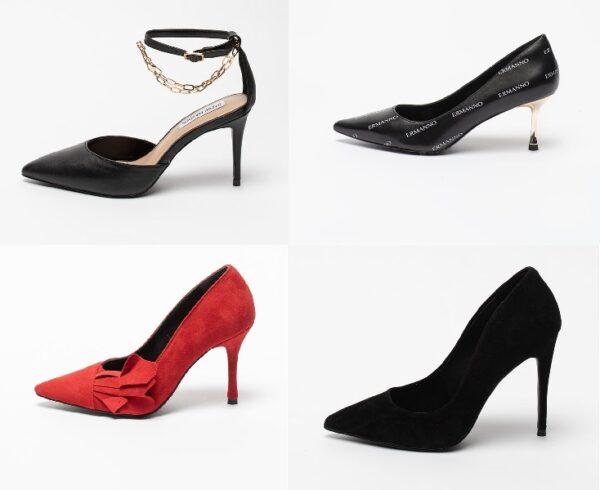 Pantofi de dama cu toc pentru tinute diferite