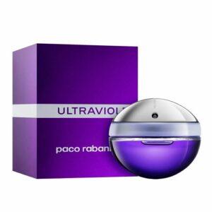 Apa de parfum Paco Rabanne Ultraviolet, 80 ml, pentru femei