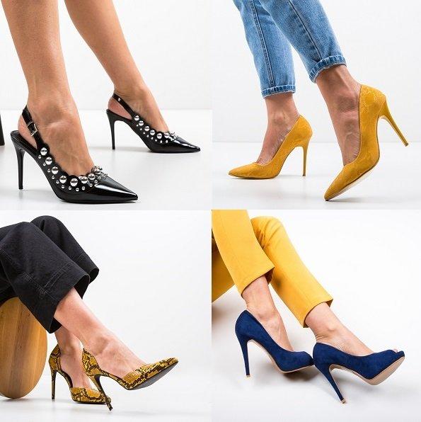 Pantofi de dama eleganti ieftini online