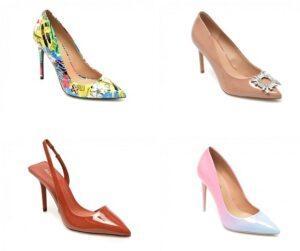 Pantofi eleganti cu toc pentru femei