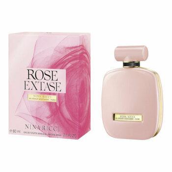 Apa de toaleta Nina Ricci Rose Extase, 80 ml, pentru femei