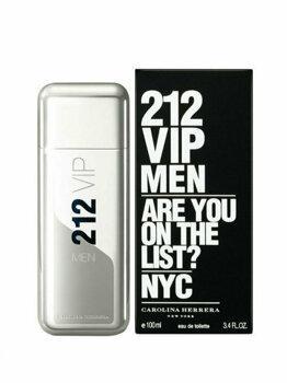 Apa de toaleta Carolina Herrera 212 VIP, 100 ml, pentru barbati