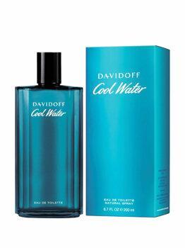 Apa de toaleta Davidoff Cool Water, 200 ml, pentru barbati