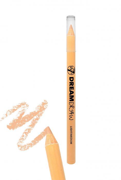 Creion Corector 3 in 1 W7 Dream Draw - Light Medium