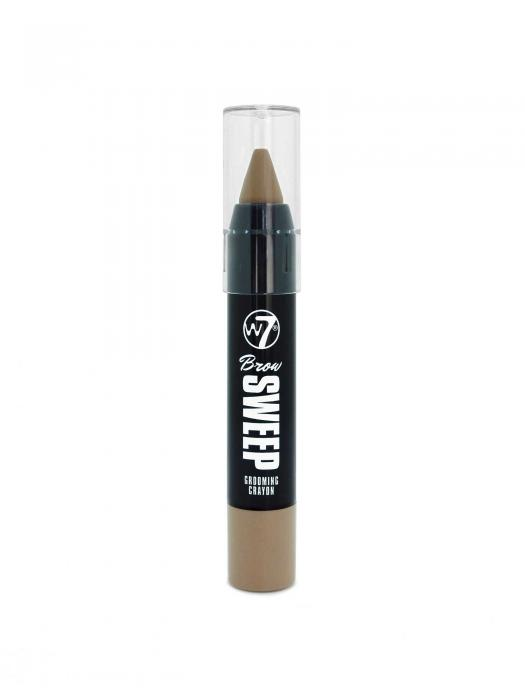 Creion Pentru Sprancene W7 Brow Sweep Grooming-Blonde