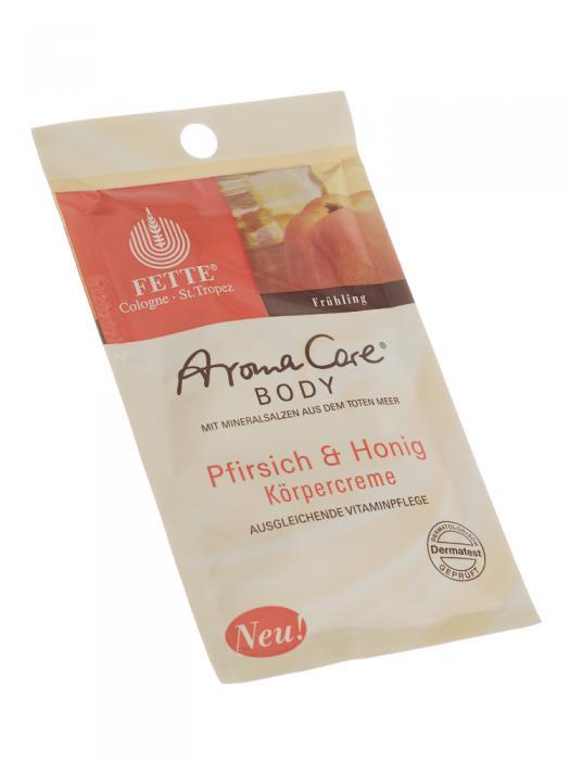 Crema de Corp DermaSel Aroma Care cu Piersici si Miere - 30 ml