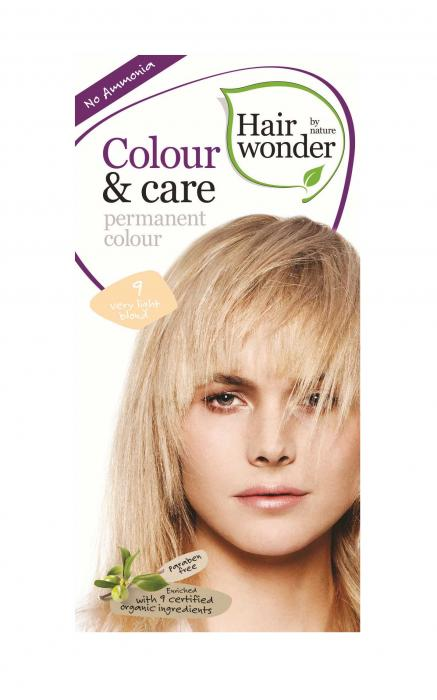 Vopsea Par HennaPlus Hair Wonder-9 Very Light Blond