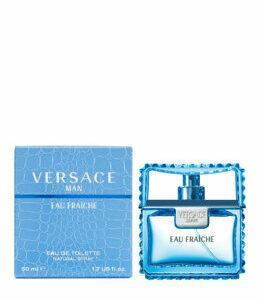 Apa de toaleta Versace Man Eau Fraiche, 50 ml, pentru barbati