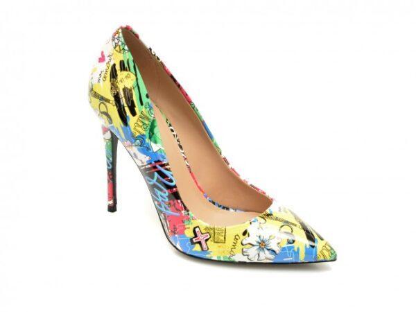 pantofi aldo multicolor stessy din piele ecologica
