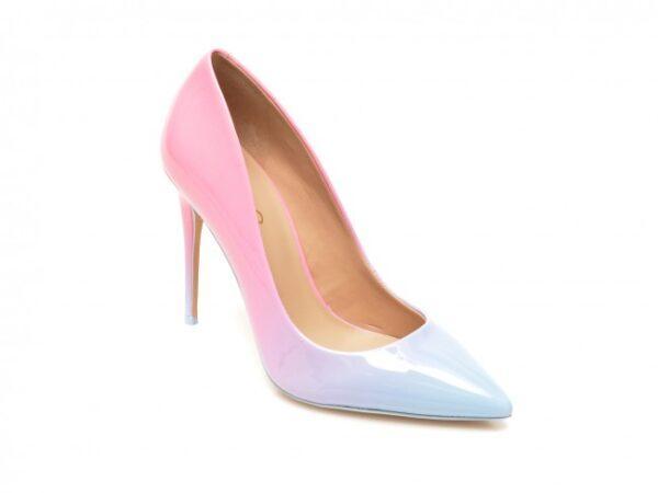 pantofi aldo roz stessy din piele ecologica