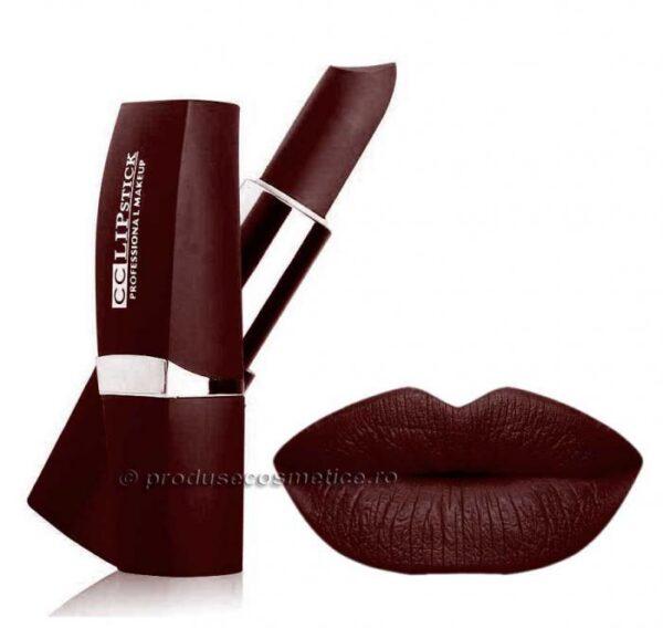 Ruj Mat Profesional Kiss Beauty CC Lips - 22 Rich Wine