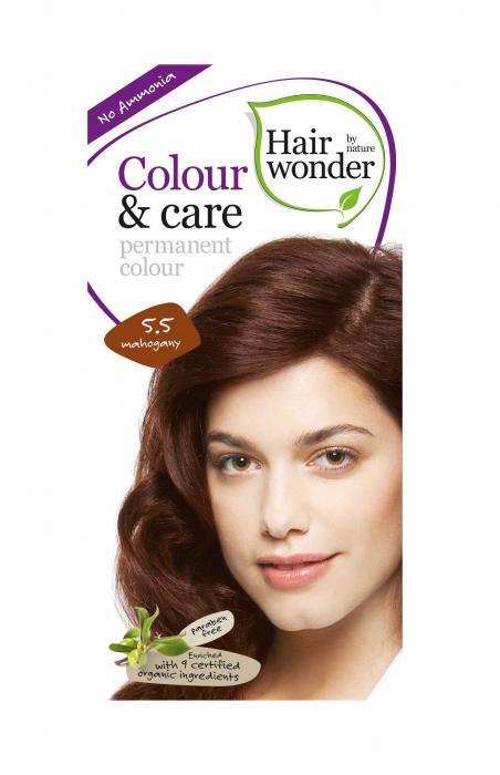Vopsea Par Fara Amoniac HennaPlus Hair Wonder-5.5 Mahogany