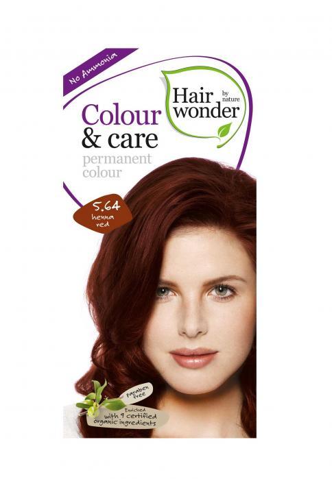 Vopsea De Par Fara Amoniac HennaPlus Hair Wonder-5.64 Red