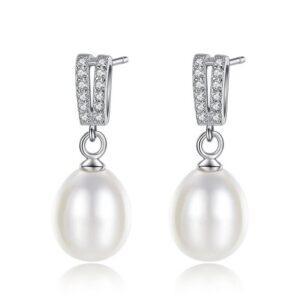 Cercei cu perle naturale Elsie