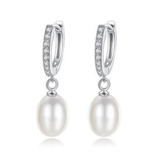 Cercei din perle naturale Freya