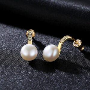 Cercei din perle naturale Sanda