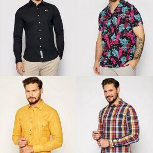 Camasi barbati elegante la moda