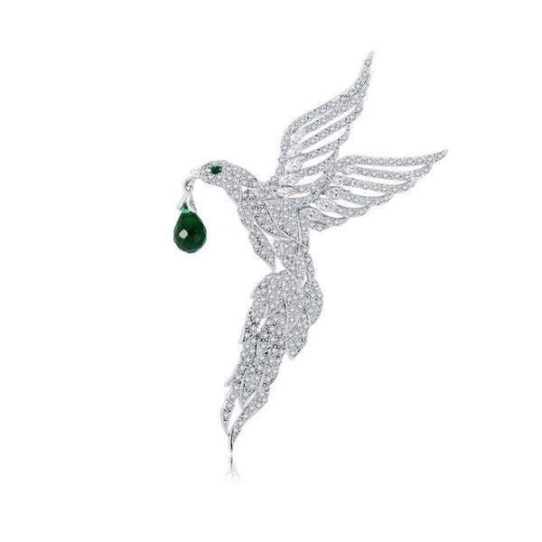 Brosa Eleganta supradimensionata Phoenix