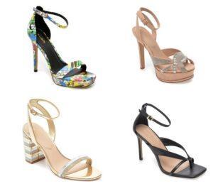 Sandale cu toc deosebite
