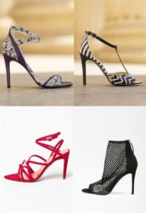 Sandale dama cu toc elegant