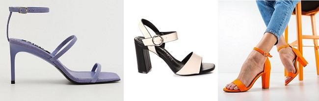 Sandale de dama cu toc online