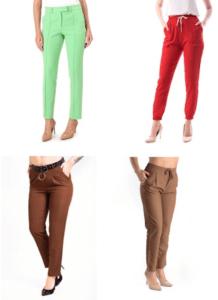 Pantaloni de dama eleganti