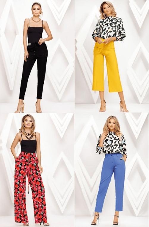 Pantaloni de dama ieftini online